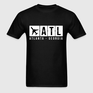 Atlanta Airport Code - Men's T-Shirt