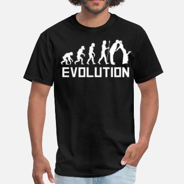 Funny Groom Groom Evolution Funny Marriage Shirt - Men's T-Shirt