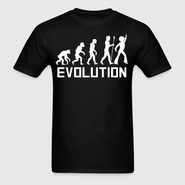 Disco Dancer Evolution Funny Disco Shirt - Men's T-Shirt