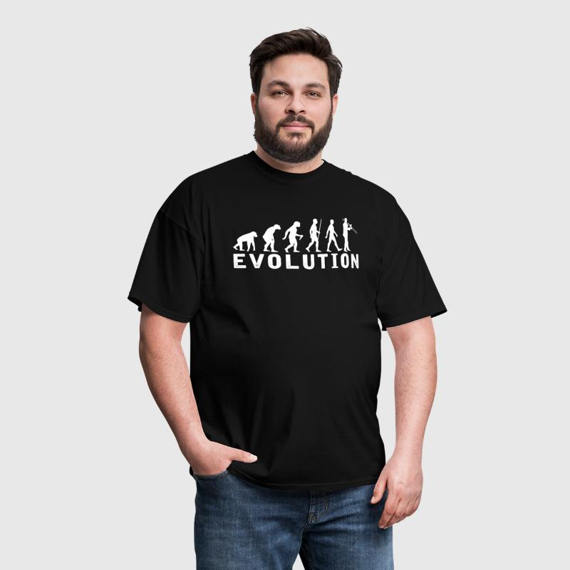 Trombone Evolution T-Shirt - Men's T-Shirt