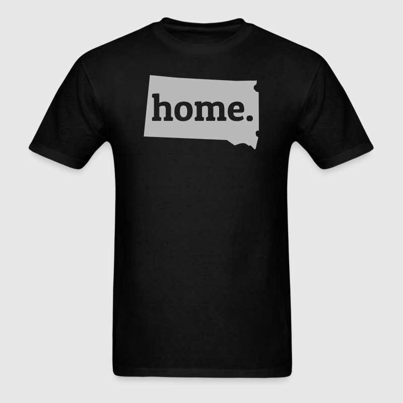 South Dakota Is My Home T-Shirt - Men's T-Shirt
