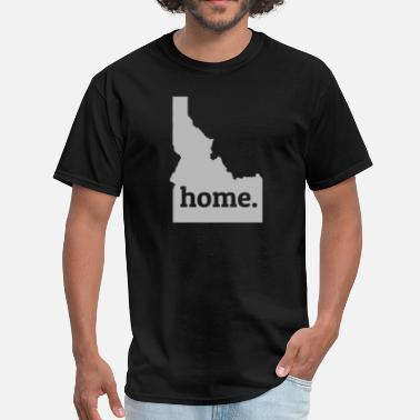 Idaho Idaho Is My Home T-Shirt - Men's T-Shirt
