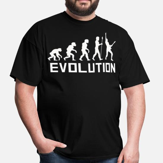 Business & Industrial Evolution Man Guitars 1 T-shirt S To 5xl Screen & Specialty Printing
