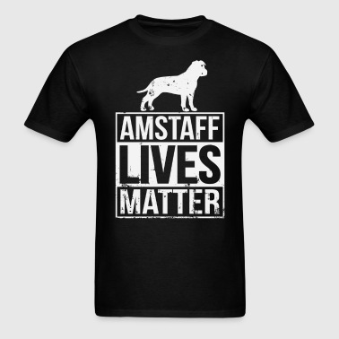 Amstaff Rescue Shelter Gift - Men's T-Shirt