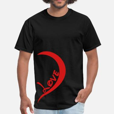 one_love_right_side - Men's T-Shirt
