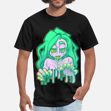 Dope Zombie Zombie Babe - Men's T-Shirt