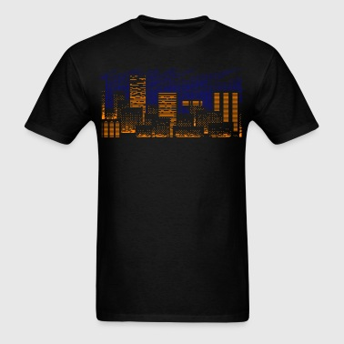 Cityscape - Men's T-Shirt
