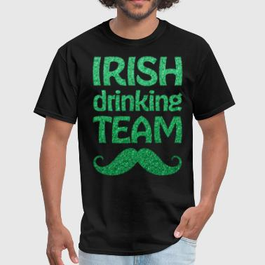 St Patricks Day Irish Drinking Team Green - Men's T-Shirt