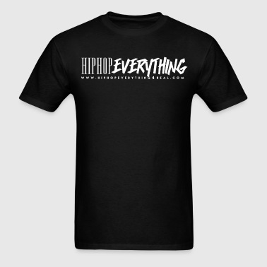 Hip Hop Everything T (White logo) Now $19.49 - Men's T-Shirt