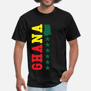 Typographic Ghana Typographical - Men's T-Shirt