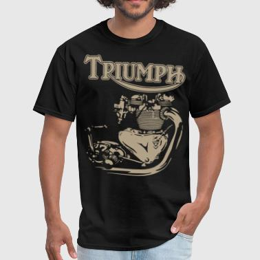 New Triumph Engine Motorcycle cycling T Shirts - Men's T-Shirt