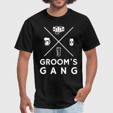 Wolfpack Groom's Gang Bachelor Party - Men's T-Shirt