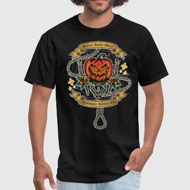 pumpkin spider - Men's T-Shirt