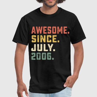 awesome since july 2006 hipster - Men's T-Shirt