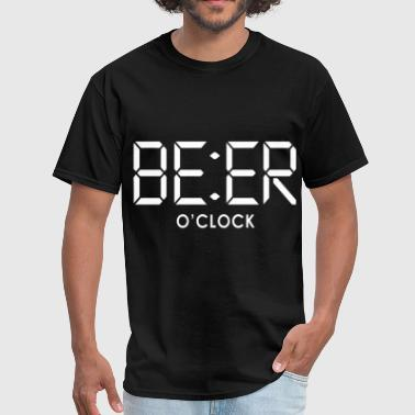 BEER O CLOCK beer - Men's T-Shirt