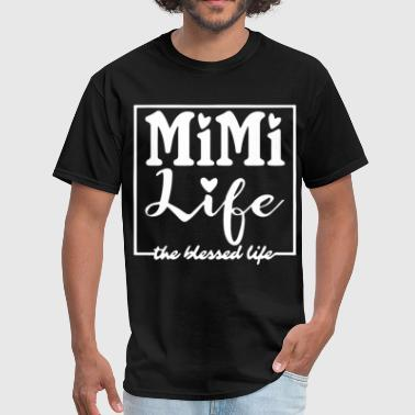 mimi life the hessed life mother t shirts - Men's T-Shirt