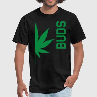 Match T-shit Best Buds Couples BUDS Matching Canabis Dope Weed - Men's T-Shirt