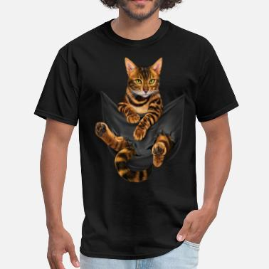 Inspirational Cat vip inspirational cat funny black youth cartoon an - Men's T-Shirt