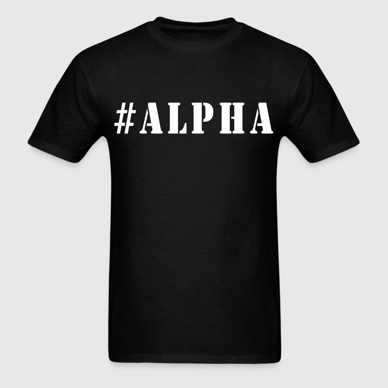 #Alpha - Men's T-Shirt
