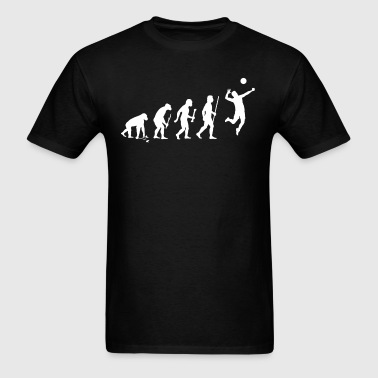 Evolution of Volleyball - Men's T-Shirt