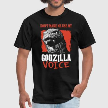 Rude St Patricks Day dont make me use my godzila voice offensive t shir - Men's T-Shirt