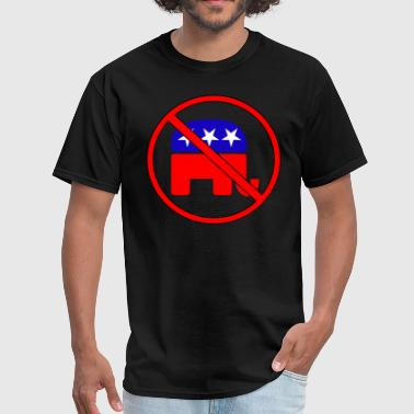 Anti Republican - Men's T-Shirt