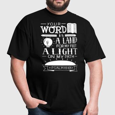 YOUR WORD IS A LAMP - Men's T-Shirt