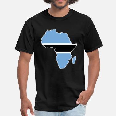 Shop Botswana Flag T-Shirts online | Spreadshirt