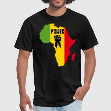 Black Power Freedom Fighters Africa black power - Men's T-Shirt