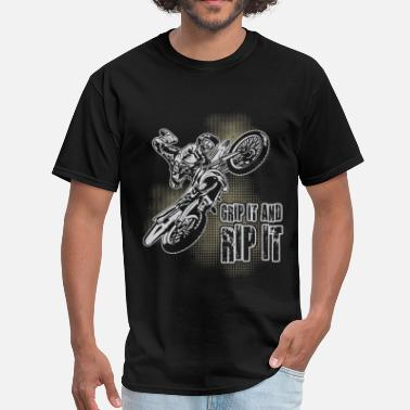 Ktm Extreme Motocross Grip It - Men's T-Shirt