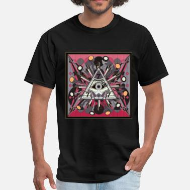 Illuminated Enlightenment EYE OF REDEMPTION 1 - Men's T-Shirt