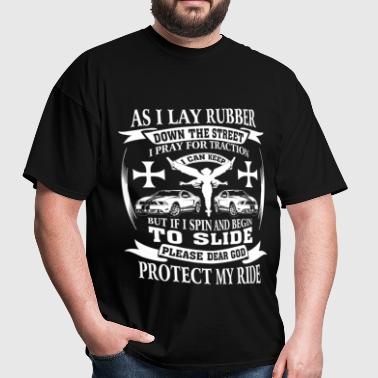 Mustang - God protect Mustang's rider - Men's T-Shirt