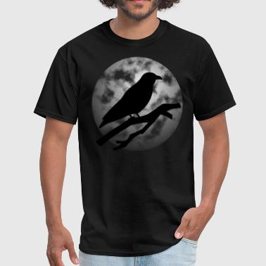 Raven And Moon Raven Moon - Men's T-Shirt