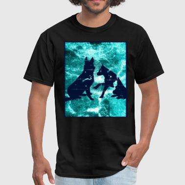 German Shepherd Partner Friends - Men's T-Shirt
