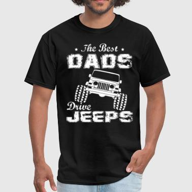 Its Always Sunny In Philadelphia cool the best dads drive jeeps the more i play wit - Men's T-Shirt