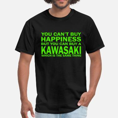Kawasaki SPORTS BIKE Funny Motorbike Racing Sizes Kawasaki - Men's T-Shirt