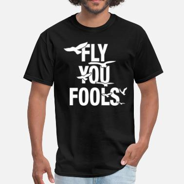 Gandalf Fly You Fools - Men's T-Shirt