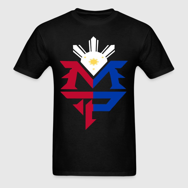 Manny Pacquiao flag - Men's T-Shirt