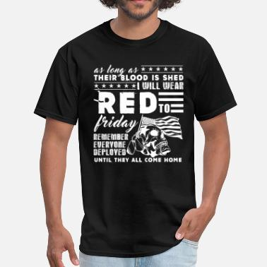 Friday Wear Red Friday Shirt - Men's T-Shirt