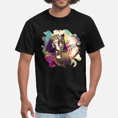 Tut Mask King Tut  Mask Abstract composition - Men's T-Shirt
