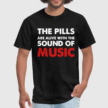 Pill Rave Pills - Men's T-Shirt