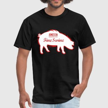 Jones'en Fine Swine - Men's T-Shirt