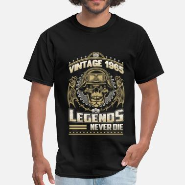 1965 Mustang Coupe Vintage 1965 - The legends never die awesome tee - Men's T-Shirt