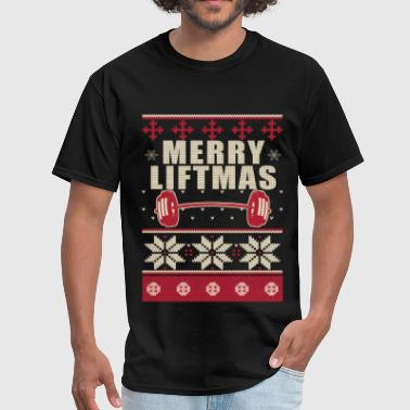 Boobs Film Bodybuilder Ugly Christmas Sweater - Men's T-Shirt