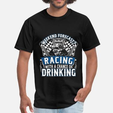 Horse Penis Racing weekend - With a chance of drinking - Men's T-Shirt