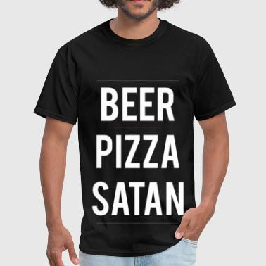 Pizza And Beer Beer PIzza Satan tee - Men's T-Shirt