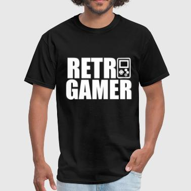 Retro Gamer - Men's T-Shirt