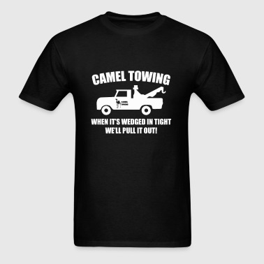 Camel Towing Well Pull it out - Men's T-Shirt