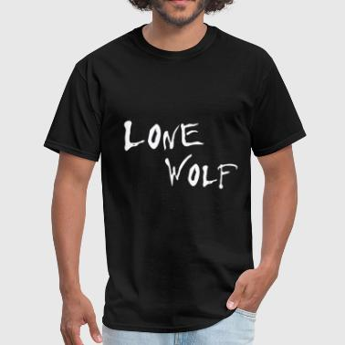 Lonely Wolf Lone Wolf - Men's T-Shirt