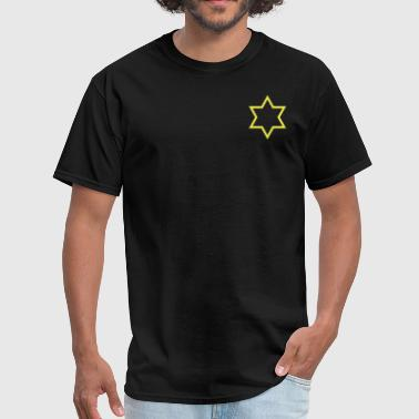 Star of David ( Vector Graphic ) - Men's T-Shirt